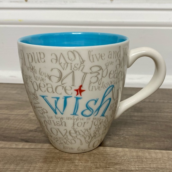 "Starbucks Mug ""WISH"".  2005"